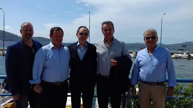 Στην Ηγουμενίτσα βρέθηκε ο επικεφαλής του Γραφείου Εκπροσώπησης της Ταϊπέι