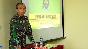 Kolonel Eppy Gustiawan, Jika Alam Tidak Dipelihara Maka Akan Muncul Bencana Sanksi Buat Kita