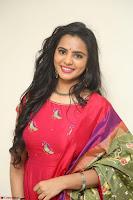 Manasa in Pink Salwar At Fashion Designer Son of Ladies Tailor Press Meet Pics ~  Exclusive 66.JPG