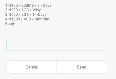 Airtel Special Data Offer - Get 1GB for N200, 2GB for N500 & 5GB for N1000 Respectively.