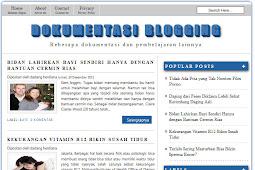 Download Minimalist Blogger Template - Cocok Buat Ternak Akun