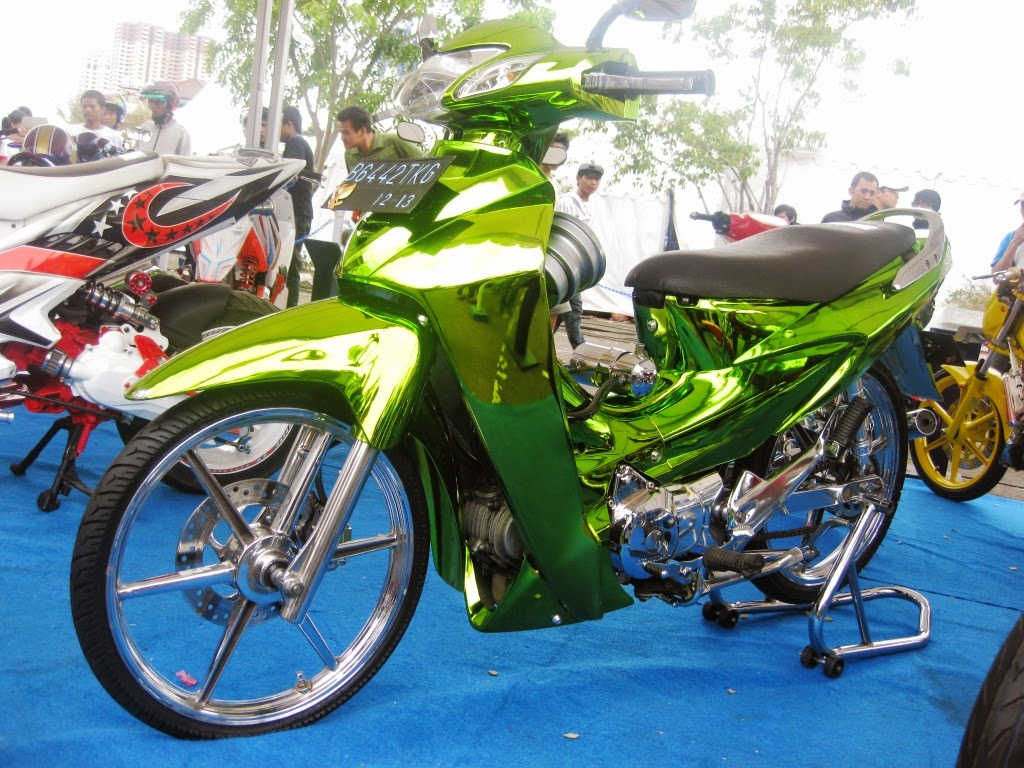 Modifikasi Motor Karisma