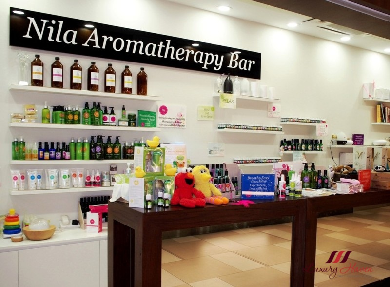 nila aromatherapy bar essential oils promo