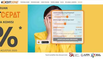 pinjaman online kredit cepat-ojk