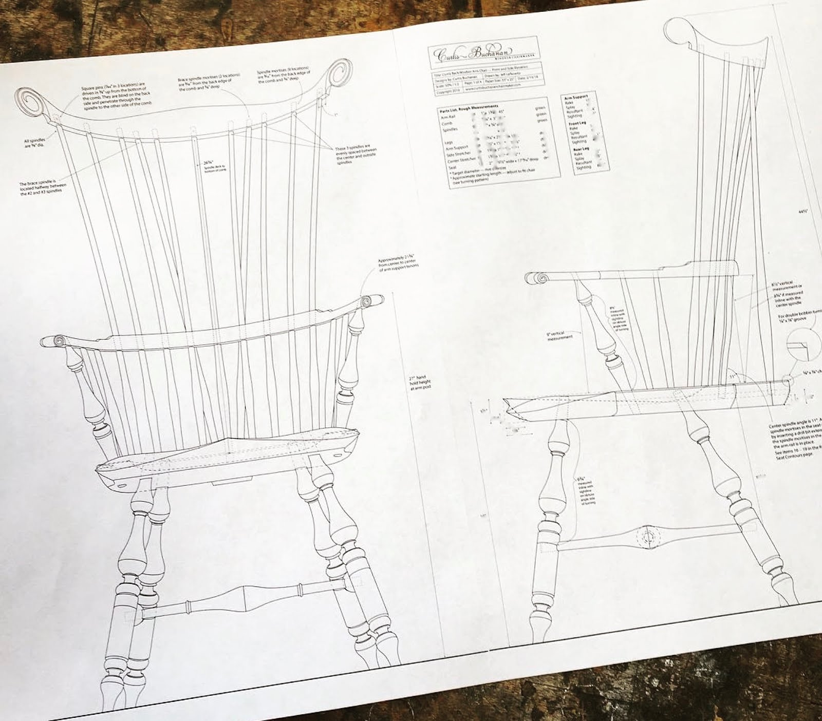 caleb james chairmaker planemaker: more windsor chair plans from