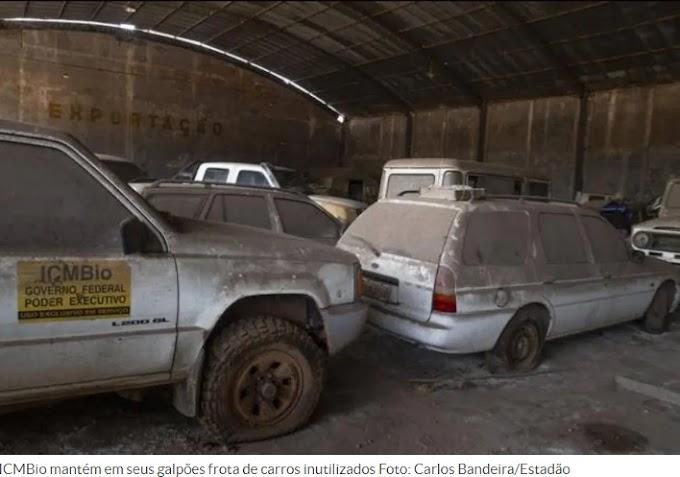 Veículos sucateados no ICMBio em Santarém custam R$ 39 milhões aos cofres públicos