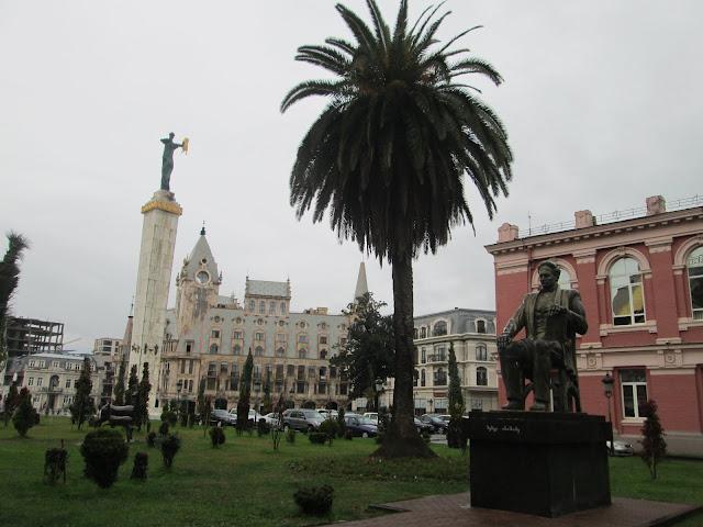 La Plaza de Europa es una parada obligatoria en Batumi