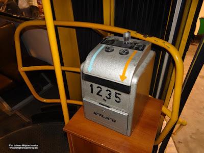 Automat biletowy Krab