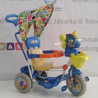 sepeda roda tiga royal unicorn ayunan