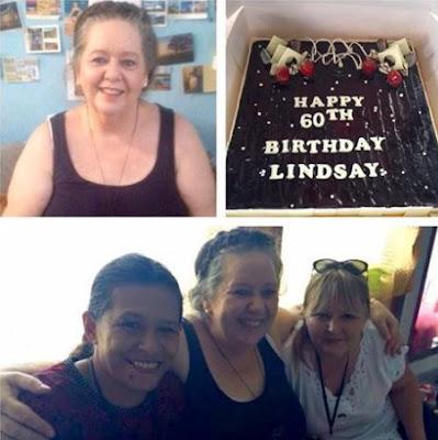 Lindsay Sandiford's 60th birthday