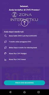 Cara Mudah Berhasil Upgrade Akun OVO Premier Secara Online 5