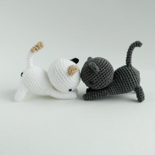 Häkelblog - Täglich neue Anleitungen: Kleine Katzen - Häkelanleitung