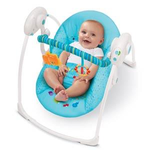 Babyorbitz Pre Love Bright Starts Portable Baby Swing