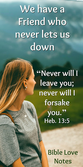 What a Friend We Have in Jesus - He Will Never Forsake Us