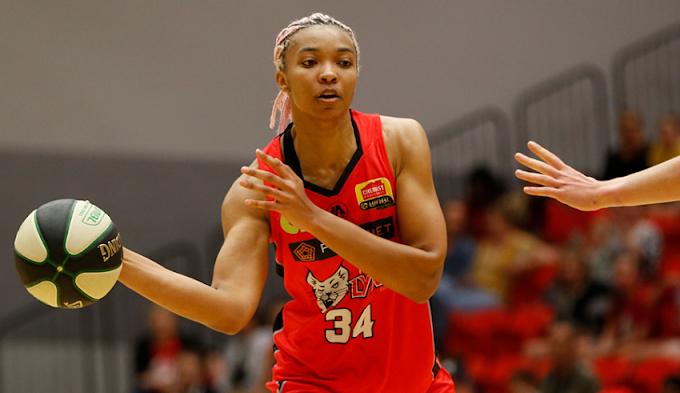 WNBA star Imani McGee-Stafford heads to Ghana
