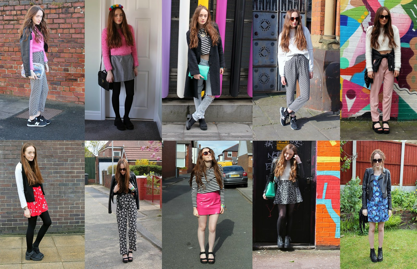 outfits round up for 2014
