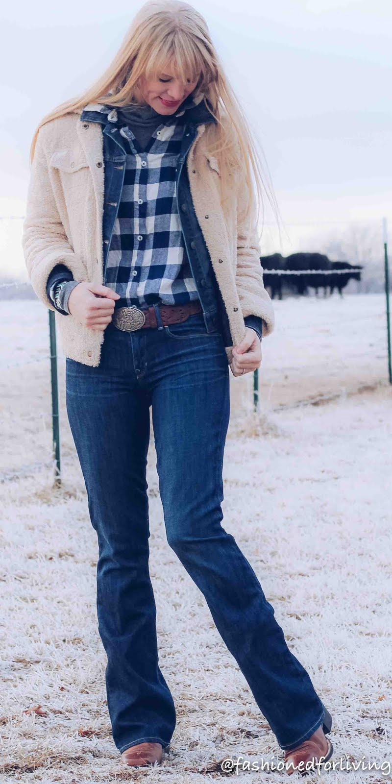 Cowgirl Jean Jacket