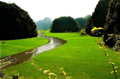 Thời điểm thích hợp đến Tam Cốc _ Ninh Bình _ Việt Nam