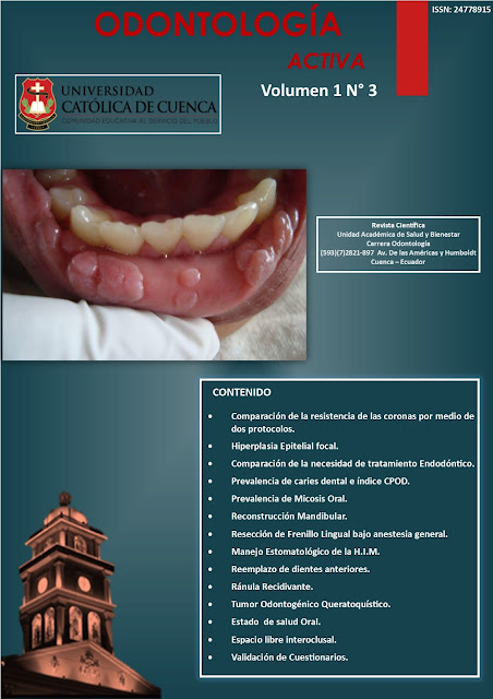 Revista Odontología Activa OACTIVA Volumen 1 N 3