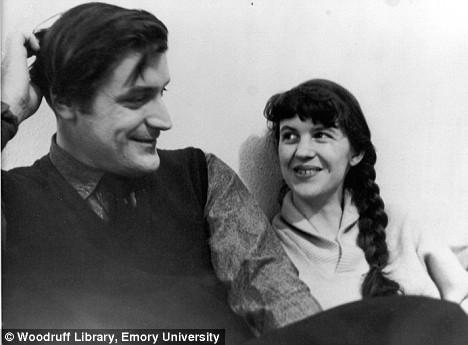 Sylvia Plath y su marido, Ted Hughes