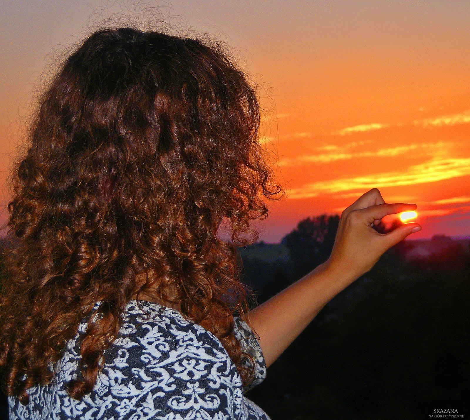 Czerwcowe nieba nad Pogórzem