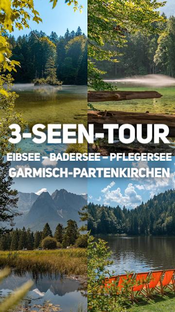 3-Seen-Tour Eibsee – Badersee – Pflegersee  Wandern Garmisch-Partenkirchen 20