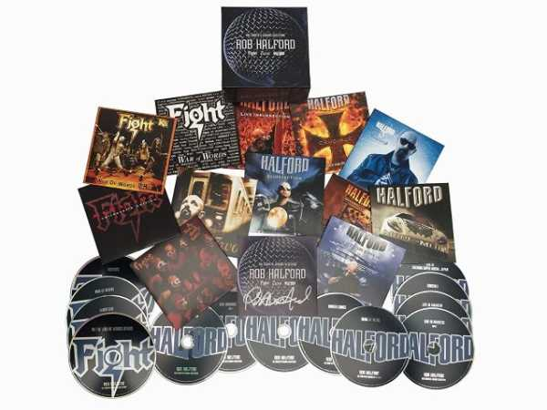 ROB HALFORD (Judas Priest): Box set με όλα τα Fight, 2wo και solo albums του