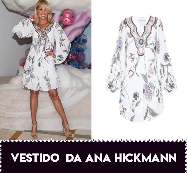 O vestido da Ana Hickmann no aniversário de Zoe, filha da Sabrina Sato