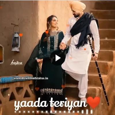 Punjabi Love Video Song Status Download For Whatsapp, #love #whatsapp #punjabi #song #download #4K_full-screen #yaada_teriyan