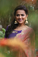 Actress Shraddha Srinath in Purple Chania Choli Cute Pics ~  Exclusive 23.jpg