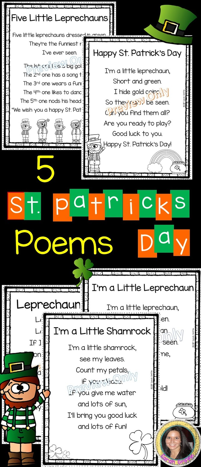 Daughters And Kindergarten 5 St Patricks Day Poems For Kids