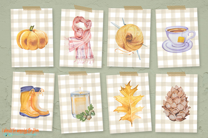Fall Things Printables