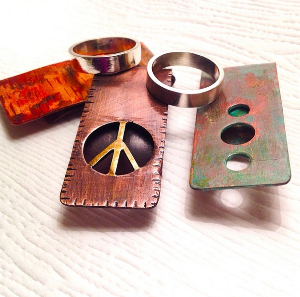 Money clips and Mens Rings in time for fathers day