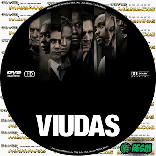 GALLETA VIUDAS - WIDOWS - 2018 [COVER DVD]