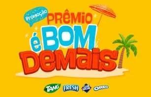 Cadastrar Promoção Prêmio é Bom Demais Tang, Fresh, Oreo, Club Social Kit Cozinha