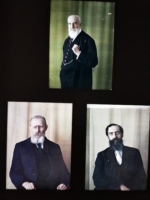 Les fondateurs de la cité universitaire. Deutsch de la Meurthe,Honnorat et Appellll