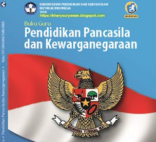 File Pendidikan Buku Guru PPKN Kelas 12 Kurikulum 2013 Revisi 2018