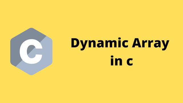 HackerRank Dynamic Array in C programming solution
