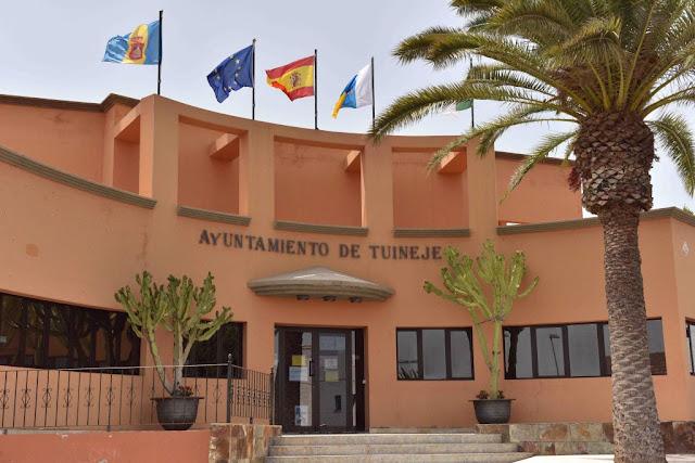 ayuntamiento%2Bde%2BTuineje - Fuerteventura.- Un 40% de los empleados públicos del Ayuntamiento de Tuineje trabajan ya desde sus casas