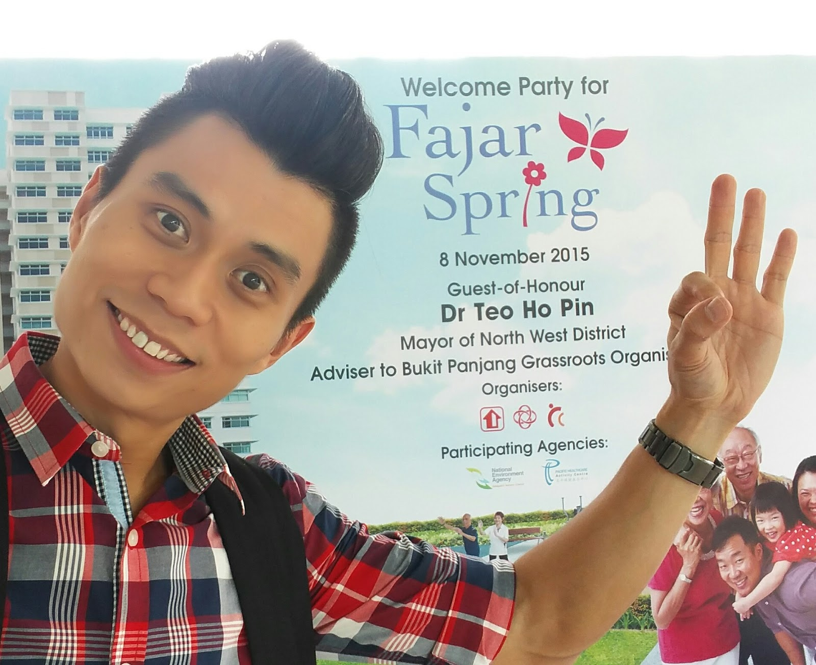 Celebrity emcee singapore