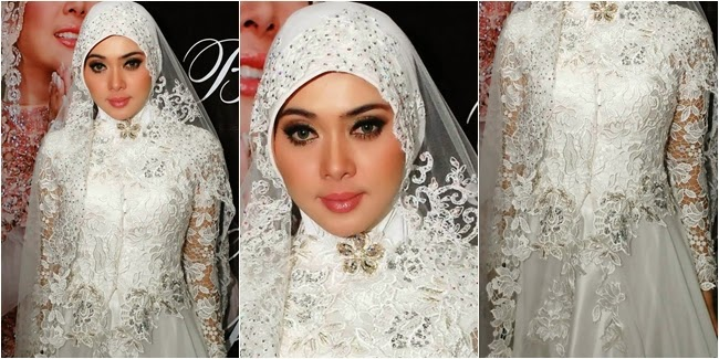 Trend Populer Model Baju Muslim Syahrini