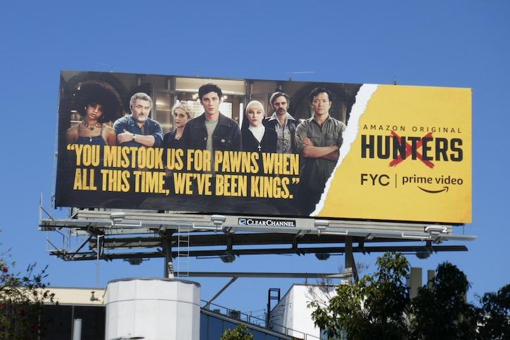 Hunters 2020 Emmy FYC billboard