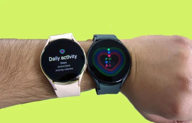 Test du Samsung Galaxy Watch 4