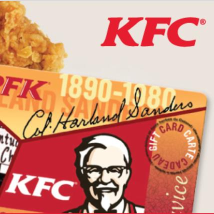 Offer Details - (1197386) - $50 KFC Gift Card (United States)