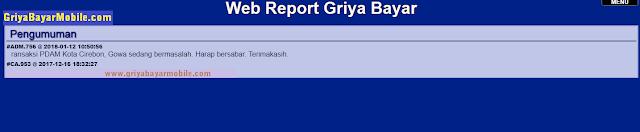 web report griya bayar