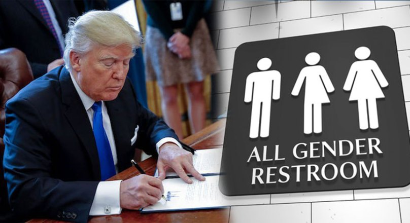 Do You Support Trump Repealing Obamas Transgender Bathroom Laws  Politics Daily Update