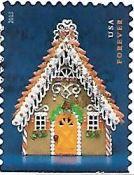 Selo Biscoito de Natal