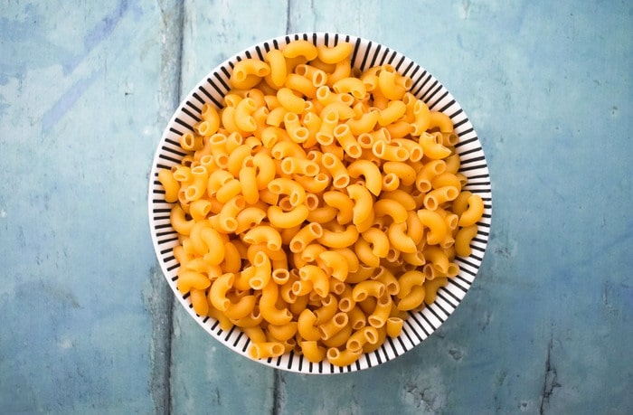 dried elbow macaroni