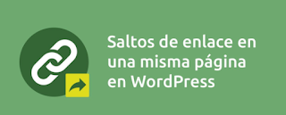 Crear enlaces de anclaje en WordPress