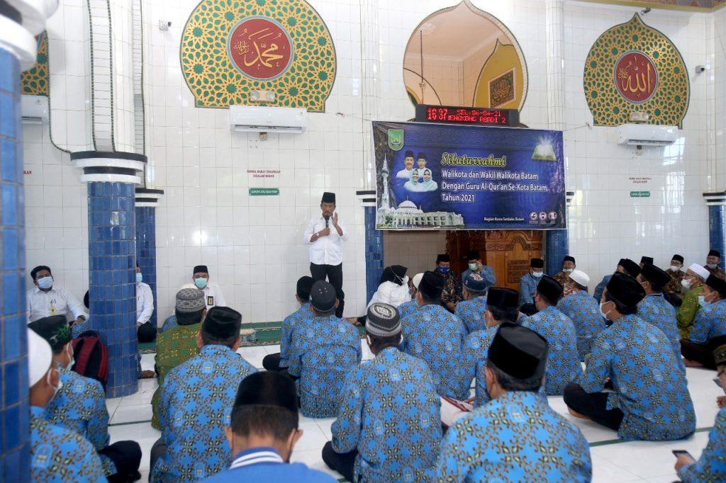 Rudi Silaturahmi Dengan BMGQ Kota Batam